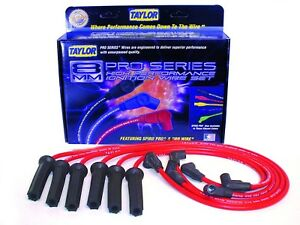 New Taylor Cable 8mm Spiro Pro Ignition Wire Set Spark Plug Pontiac Grand Am Td