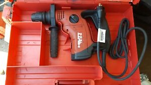 Hilti Te 6 s Sds Corded Rotary Hammer Drill With Case 120v 650w