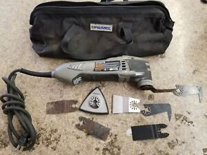 Dremel Multi max Mm40 Corded 3 8 Amp Multi tool Kit