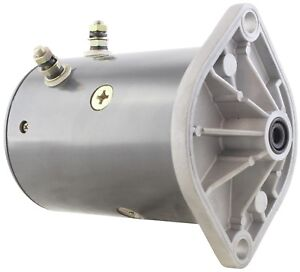 Brand New Plow Motor Fisher Western 2 Post Insulated Mue6306 Mue6306s Mue7001