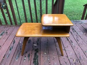 Mid Century Modern Heywood Wakefield End Table