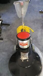 Dayton High Speed Burnisher 1500 Rpm Model 4nek5 New Old Stock Out Of Box