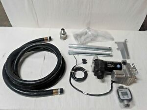 12v Fuel Transfer Pump 20 Gpm Manual Nozzle Hose