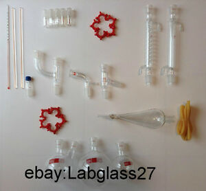 Chemistry Lab Glassware Kit 29 Pcs 24 29