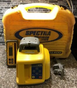 Great Shape Spectra Precision Ll400 Laser Package With Hl760 Receiver