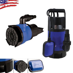 1 2hp 2000gph Submersible Dirty Clean Water Pump Swimming Pool High Quality