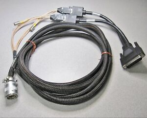 Olympus 55596l10 Video Cable W in out Converter Cv 100 140 200 240 Warranty