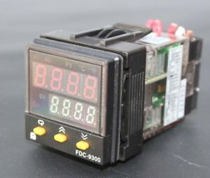 Future Design Fdc 9300 Fuzzy pid Process Temperature Controller 1 16 Din