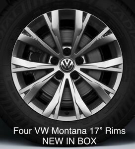 Volkswagen Montana Rims 17 Four New In Box