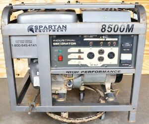 Spartan Industries 8500m 8500w Gas Gasoline Standby Portable Backup Generator