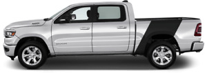 Bedside Banner Rally Vinyl Graphic Decal Stripes For Dodge Ram 1500 2019 Up