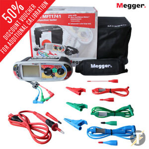 Megger Mft1741 Multifunction Installation Tester With Case And Kit