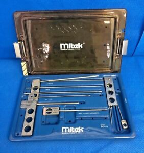 Mitek 215550 Arthroscopy Set Knot Delivery Instruments anchors guides Surgical