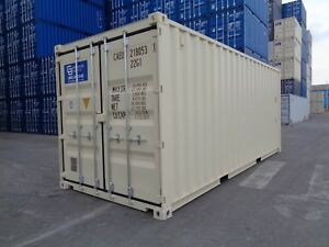 20 One Trip Shipping Container Storage Containers