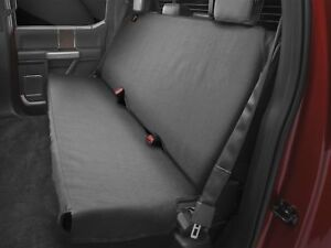 Weathertech Bench Seat Protector In Black De2030ch For Trucks Cars Suvs