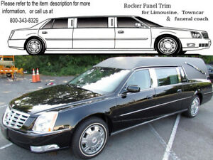 For 2000 2005 Cadillac Sedan Deville S S Hearse 4 Pc Ss Rocker Panel Trim On Th