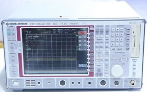Rohde Schwarz Fsea 20 Spectrum Analyzer 9 Khz 3 5 Ghz