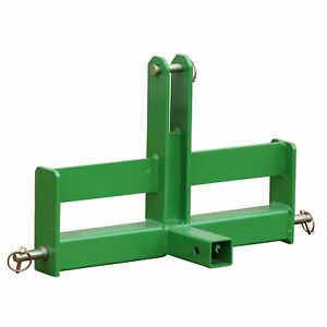 Titan Cat 1 3 Point Green Tractor Drawbar With Suitcase Weight Brackets