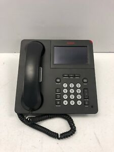 Avaya 9641g Ip Voip Digital Business Phone W Handset And Stand Tested