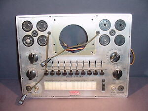 Eico 625 Tube Tester Mainframe Chassis With Pdf format manuals
