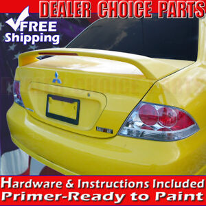 2004 2005 2006 2007 Mitsubishi Lancer Ralliart Factory Style Spoiler Wing Primer