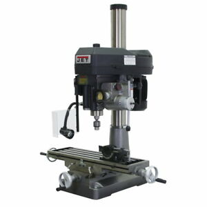 Jet 350020 Jmd 18pfn Mill drill With Power Downfeed 115 230v 1ph