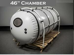 New Pet 7psi 46 Inch Hyperbaric Oxygen Chamber Higher Pressure 1 5ata