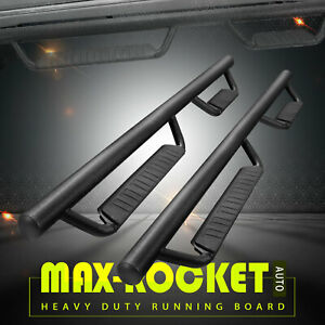 Fit 15 18 Chevy Colorado Canyon Crew Cab 3 Side Step Nerf Bar Running Board Bcc