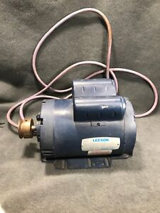 Leeson Electric Motor A6k17dr23a Used 1 5 Hp 1725 Rpm