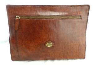 The Bridge Leather Underarm Document Wallet Briefcase Conference Folder 06110901