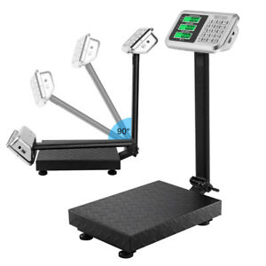 100kg 220lb Weight Price Computing Digital Floor Platform Scale Postal Shipping