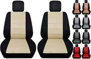 Fits Ford Edge Front Car Seat Cover Black Gray Beige Brown Red Blue Orange