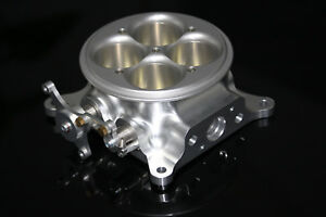 Cnc Billet 1200 Cfm 4 Barrel 4150 Billet Throttle Body