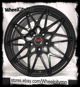 20 Inch Satin Black R11 Racing Rims Fits Ford Flex Edge Mustang Fusion 5x4 5 40