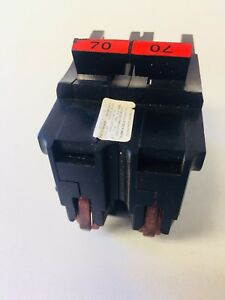 Fpe Federal Pacific Stab lok Na270 70 amp 2 Pole Circuit Breaker Thick
