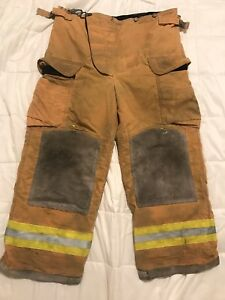 Lion Bodyguard Firefighter Turnout Gear Bunker Turnout Pants W Liner 38 X 28