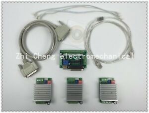 Cnc Router 3 Axis Kit tb6600 3 Axis Stepper Motor Driver Controller Kit 4 5a Mac