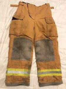 Lion Bodyguard Firefighter Turnout Gear Bunker Turnout Pants W Liner 34 X 30
