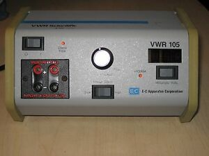 Vwr Scientific 105 Dc Power Supply Electrophoresis