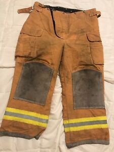 Lion Bodyguard Firefighter Turnout Gear Bunker Turnout Pants W Liner 40 X 28