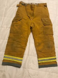 Globe Firefighter Turnout Gear Bunker Turnout Pants W Liner 40 X 28