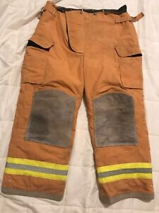 Lion Bodyguard Firefighter Turnout Gear Bunker Turnout Pants W Liner 40 X 30