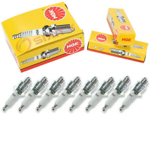 8 Pcs Ngk Standard Spark Plugs For 1950 1954 Ford Country Squire 3 7l 3 9l Se