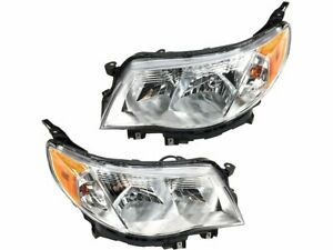 For 2009 2013 Subaru Forester Headlight Assembly Set 14148zt 2010 2011 2012