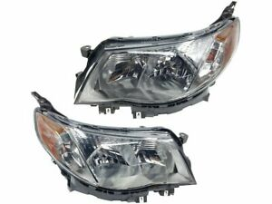 For 2009 2013 Subaru Forester Headlight Assembly Set 44648xd 2010 2011 2012