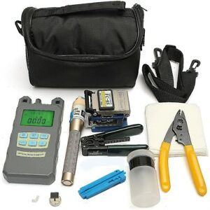 Fiber Optic Ftth Tool Kit Fc 6s Fiber Cleaver And Optical Power Meter Set
