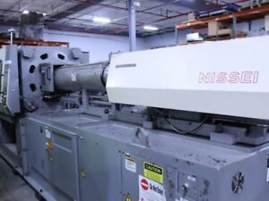 Nissei Fn7000 398 Ton 40 Oz Injection Molding Machine 10637