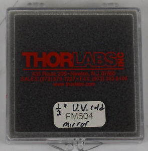 Thorlabs Uv Cold Mirror Dia 1 2 Aoi 45 1 Mm Thick