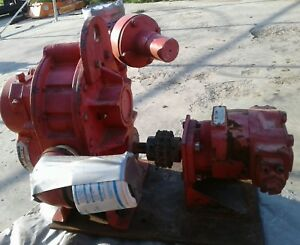 Tuthill 5003 21l2 Blower With Hydrualic Motor