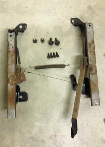 94 95 96 97 98 Mustang Manual Seat Track With Install Bolts Driver Side Left